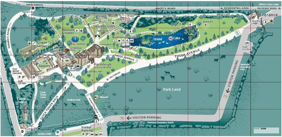 Farmleigh Estate Map