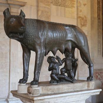 Lupa Romulus - Remus